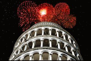 Pisa fireworks
