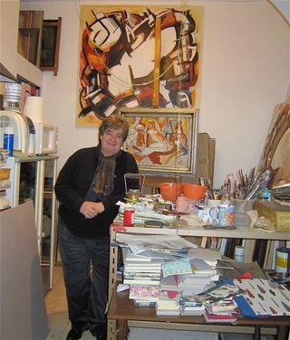 Painter at Cartoleria