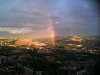 Rainbow over Todi