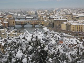 2010 Firenze in snow