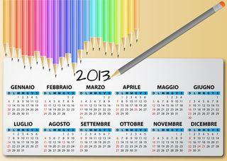 2013 calendar blog