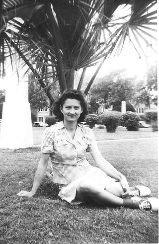Mom Lucille in Texas