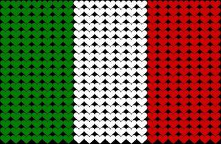 Italian bandiera pic
