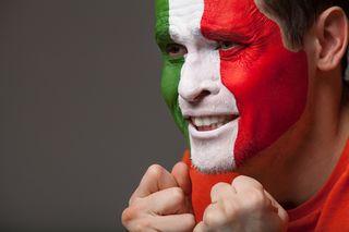 Italian emotion face