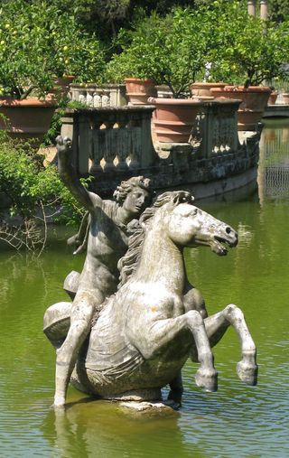 Boboli fountain