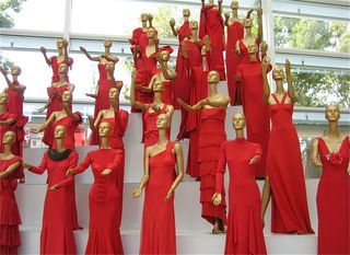 Valentino red dresses
