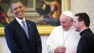 Pope & Obama