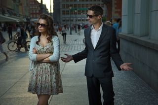 Couple arguing blog