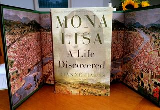 Mona Lisa Cover & Endpapers