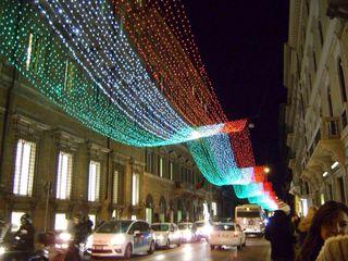 Italy Xmas lights