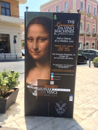 Mona Lisa in Siracusa