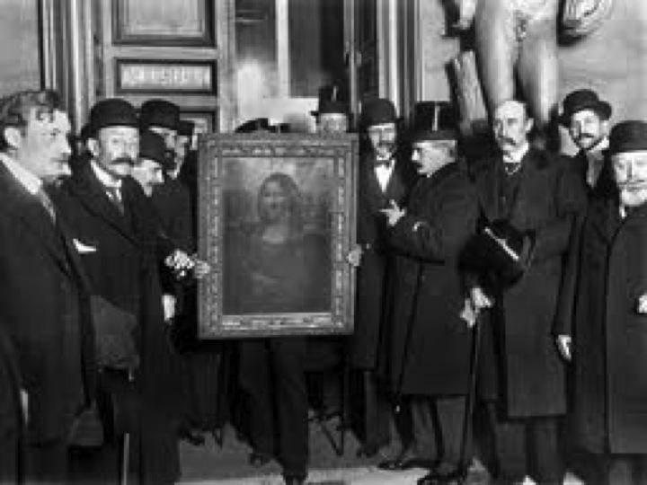 The Theft of the Mona Lisa - Mona Lisa\'s Florence