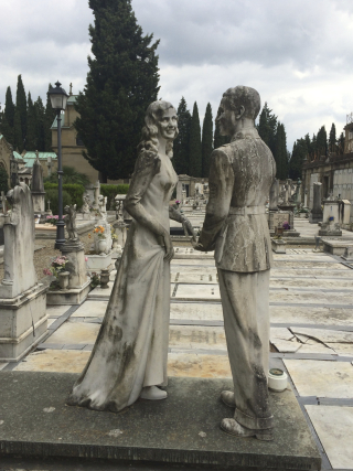 Couple cemetery