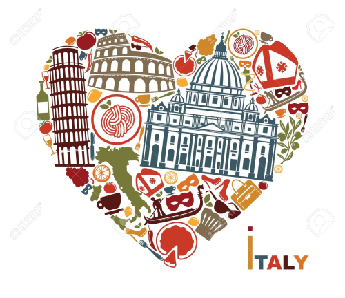 58787533-Symbols-of-culture-architecture-and-cuisine-of-Italy-in-the-shape-of-a-heart-Stock-Vector