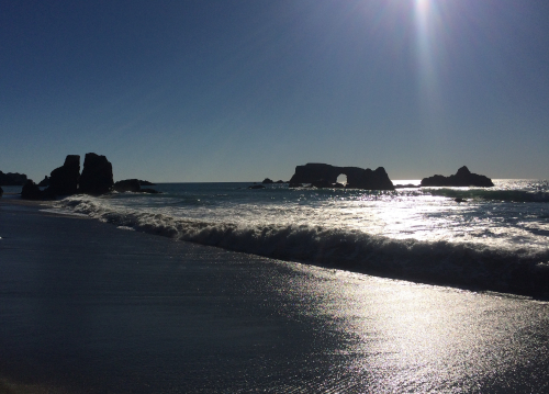 Arched rock Beach