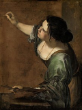 220px-Self-portrait_as_the_Allegory_of_Painting_(La_Pittura)_-_Artemisia_Gentileschi